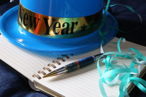 New Year resolution book & pen Flickr vanhookc CC BY-SA